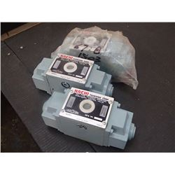 Nachi Wet Type Solenoid Operated Directional Control Valves