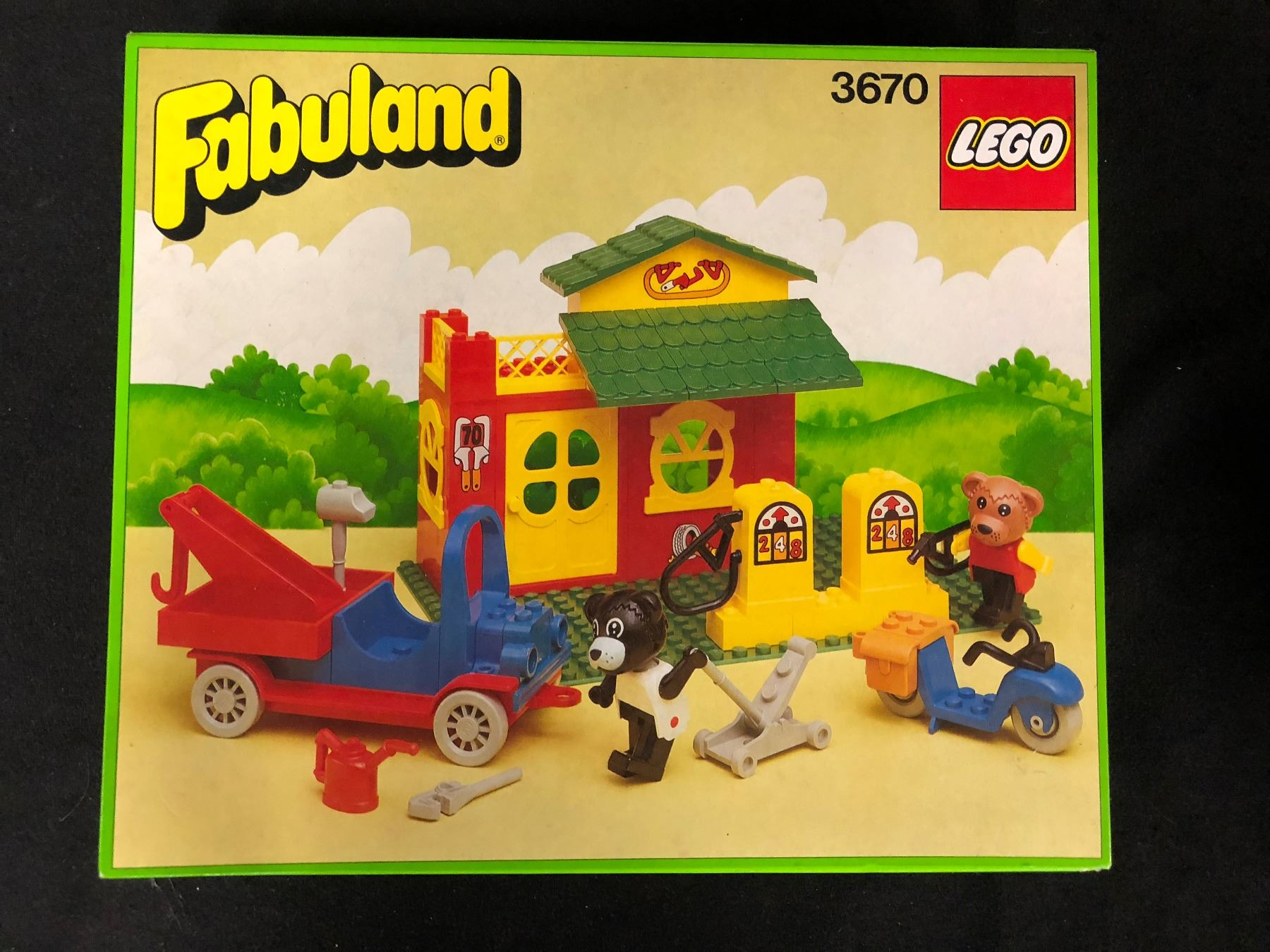 Vintage Lego Fabuland 3670 W Box