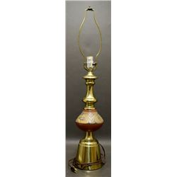 SANTA CLARA POTTERY LAMP (LELA AND LUTHER GUTIERREZ)