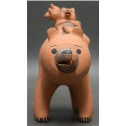 COCHITI POTTERY BEAR (HERRERA)
