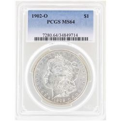 1902-O $1 Morgan Silver Dollar Coin PCGS MS64