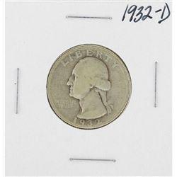 1932-D Washington Quarter Coin