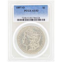 1897-O $1 Morgan Silver Dollar Coin PCGS AU53