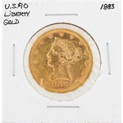 1883 $10 Liberty Head Eagle Gold Coin