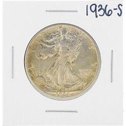 1936-S Walking Liberty Half Dollar Coin