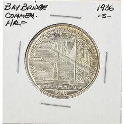 1936-S San Francisco - Oakland Bay Bridge Opening Half Dollar Coin