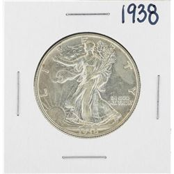 1938 Walking Liberty Half Dollar Silver Coin