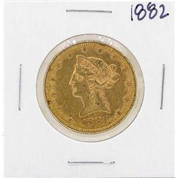 1882 $10 Liberty Head Eagle Coin