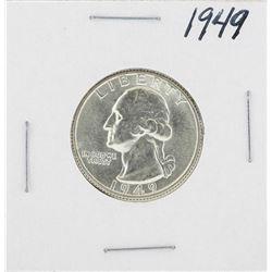1949 Washington Quarter Coin