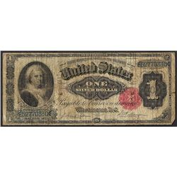 1891 $1 Martha Washington Silver Certificate Note
