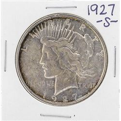1927-S $1 Peace Silver Dollar Coin