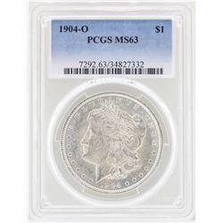 1904-O $1 Morgan Silver Dollar Coin PCGS MS63
