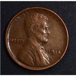 1914-S LINCOLN CENT XF/AU