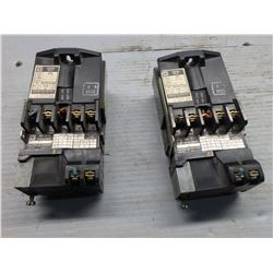 SQUARE D COMPANY  8501 G040 CONTROL RELAY W/ TIME DELAY ATTACHMENT *LOT OF 2*
