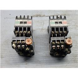 MITSUBISHI S-A10RM MAGNETIC CONTACTOR *LOT OF 2*