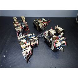 TELEMECANIQUE LC1 D0901 CONTACTOR *LOT OF 8, 4 GROUPS OF 2 *