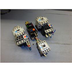 MITSUBISHI SR-N4, S-K11, S-N21, S-N35 CONTACTORS *LOT OF 4*