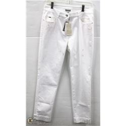 (WOMENS) PAIR OF WHITE RABE SKINNY JEANS SIZE 36
