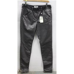 (WOMENS) PAIR OF GREY SANDWICH DENIM PANTS SIZE 40