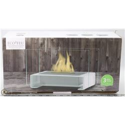 NEW ECO-FEU TOULOUSE TABLETOP FIREPLACE.