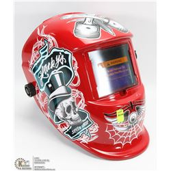 NEW AUTO DARKENING WELDING HELMET