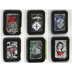 FEATURED ITEMS: NEW ZIPPO STYLE LIGHTERS!