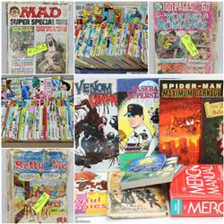 FEATURED ITEMS: COMICS AND GRAPHIC NOVELS!