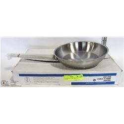 """9.5"""" STAINLESS STEEL INDUCTION FRY PAN"""