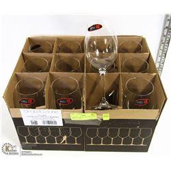 CASE OF 12 RIEDEL DEGUSTAZIONE WINE GLASSES