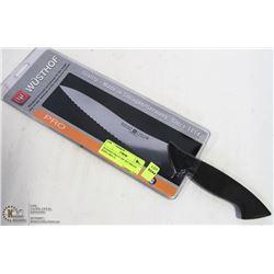 """WUSTHOF PRO 9"""" OFF-SET BREAD KNIFE (4855-7)"""