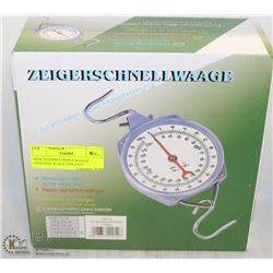 NEW ZEIGERSCHNELLWAAGE HANGING SCALE FOR FAST