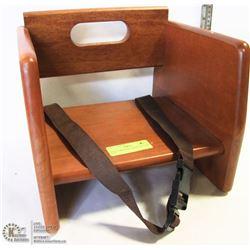 NEW STABLECRAFT WOOD BOOSTER SEAT