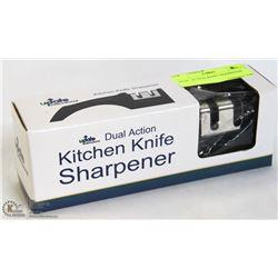 DUAL ACTION KNIFE SHARPENER