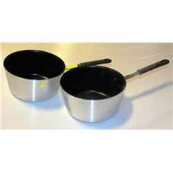 LOT OF 2 NEW HEAVY DUTY 7QT ALUMINUM NON-STICK