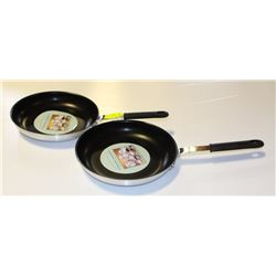 "12"" COATED ALUMINUM FRY PANS (2)"