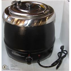 NEW 10L SOUP KETTLE WITH LID ON CHOICE