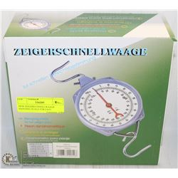 ON CHOICE: NEW ZEIGERSCHNELLWAAGE HANGING SCALE