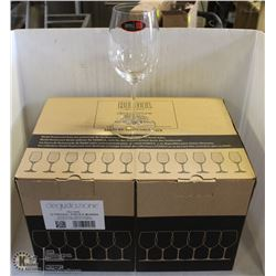 NEW RIEDEL DEGUSTAZIONE WINE GLASSES - CASE OF 12