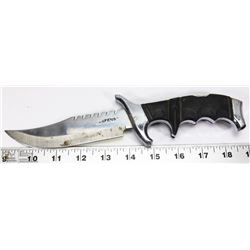 "DEFENSE FIXED BLADE HUNTING KNIFE 8"" LONG"