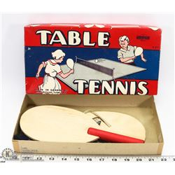 VINTAGE TABLE TENNIS GAME IN BOX