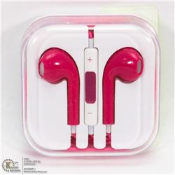 ON CHOICE: NEW PINK  APPLE STYLE EARBUDS