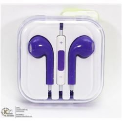 ON CHOICE: NEW PURPLE APPLE STYLE EARBUDS