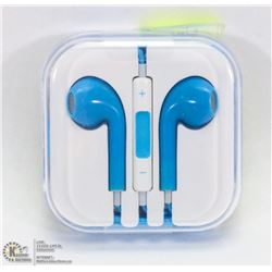 ON CHOICE: NEW BLUE  APPLE STYLE EARBUDS