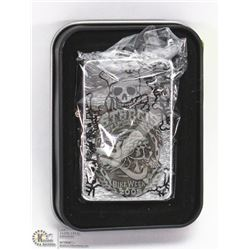 NEW ZIPPO STYLE LIGHTER W/ STURGIS BIKE WEEK THEME