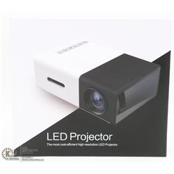"NEW COLOR 24""-60"" LED PROJECTOR"