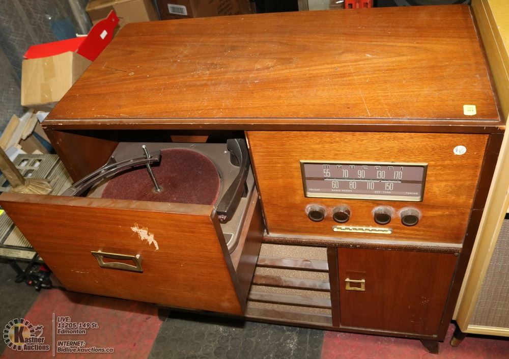 VINTAGE RECORD PLAYER CONSOLE STEREO ON CHOICE