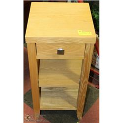 PIER 1 IMPORTS 3-TIER SOLID WOOD ENTRY