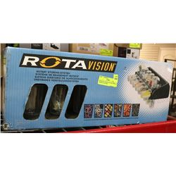 NEW ROTA VISION ROTARY GARAGE STORING SYSTEM