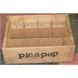 PIC-A-POP WOOD CRATE