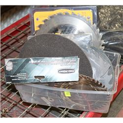 MINI TOTE OF SAW BLADES AND MORE